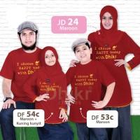 harga kaos muslim keluarga/ kaos couple keluarga / baju couple murah Tokopedia.com