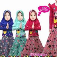 Little Pineapple - Mickey Hijab Rok Bintang