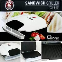 Alat Panggang Roti Sandwich Grill Ox 843