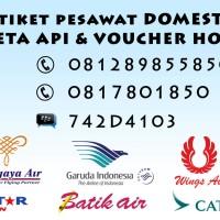 TIKET PESAWAT LION AIR JAKARTA - PANGKALPINANG RP 290,000