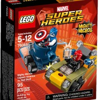 LEGO 76065 - Super Heroes -Mighty Micros Captain America vs. Red Skull