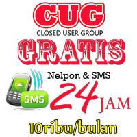 Layanan Aktivasi CUG Telkomsel NELPON&SMS 10k