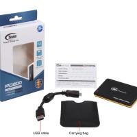 Team PD200 256GB - Portable SSD Drive USB 3.0