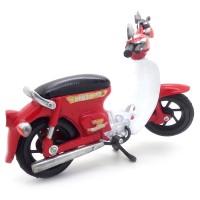 Miniatur Motor Honda Pitung 70 Klasik Antik Unik Artistik