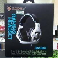 Sades 903 (SA 903 / SA903 ) Headset Gaming 7.1 ORIGINAL + lampu