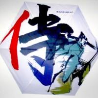 Jual UV Cut Payung Lipat Japan( Parasol ) - Motif Samurai - KAS-3 Murah