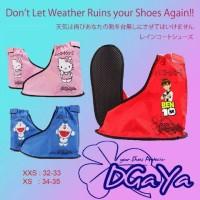 Jas hujan sepatu anak