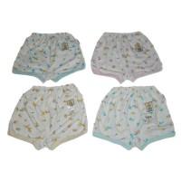 Celana Pendek Fluffy Print / Celana Pendek Bayi / Pakaian Bayi