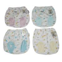 Celana Pop Fluffy Print / Celana Celana Pendek / Pakaian Bayi