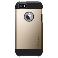 Spigen iPhone SE/5S/5 Case Tough Armor SGP-041CS20252 - Champagne Gold