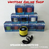 Speaker Mini Bluetooth S10