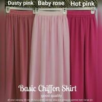 harga Rok Sifon Grade A _ Chiffon Skirt Made By Indonesian Tailors Tokopedia.com