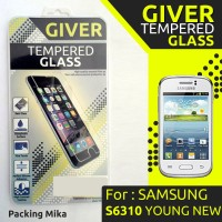 TEMPERED GLASS SAMSUNG S6310 YOUNG NEW