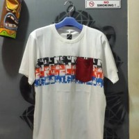 Kaos Quiksilver Pocket White Tee