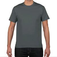 Kaos Polos Gildan Softstyle Charcoal (GSCHR01) - Unisex