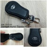 Jual Dompet Kunci STNK Motor Mobil Toyota Hitam Murah