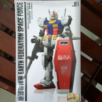 Gundam RG RX 78-2 EFSF KW Include Metal Parts FIRST BATCH ONLY New MIB