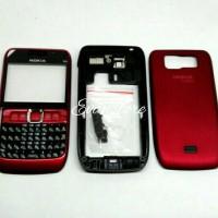 harga Kesing Casing Nokia E63 Fullset Red Tokopedia.com
