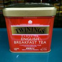 Minuman Teh Twinings Classics English Breakfast Tea Kemasan Kaleng