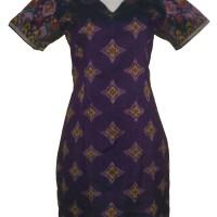 Baju Batik Wanita | Dress Cantik Etnik Tenun Ikat Endek Bali