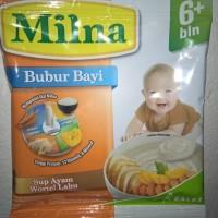 Milna Bubur Bayi Sup Ayam Wortel Labu Netto 20gr