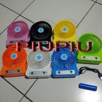Mini Fan / Kipas Angin USB Colourful with Battery Merk : Coolpad