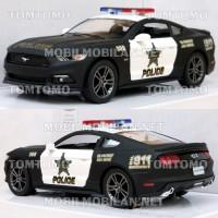 Kinsmart Ford Mustang GT 2015 (Police) Diecast Miniatur Mobil Mainan