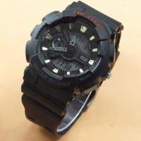jam tangan ori DIGITEC 2020 (hitam -logo merah)