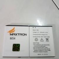 batere / baterai / battery maxtron m54 / himax polymer li
