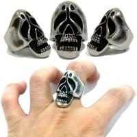 Skull Ring Titanium Keren Cincin Tengkorak Poltergesit Murah BuyMore