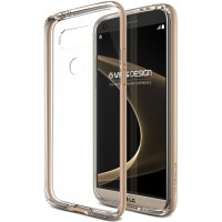 Verus LG G5 Crystal Bumper Series - Shine Gold