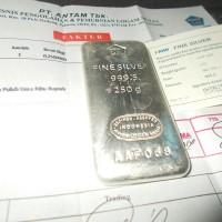 harga Perak Antam 250g Murni Perak Batang / Batangan Fine Silver Bar Bullion Tokopedia.com