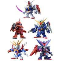 Gashapon Gundam DASH #01 Set (5 PCS)