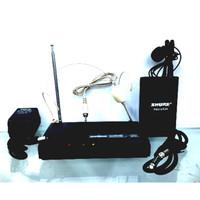 Murah Mic Wireless Shure Pgx 14 / 93A clip on + headset lidi