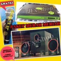 Paketan DVD + Speaker Multimedia GRATIS MIC SONY Paket