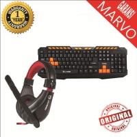 Marvo Combo Headset H8320+K328 Gaming Garansi Resmi