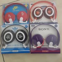 harga Headset DJ NIKE(All Brand) Headphone Sport Earphone Handsfree Bando Tokopedia.com