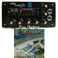 RAKITAN / KIT SPEAKER AKTIF ZEUS MP3 + SUBWOOFER