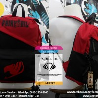 Tas Backpack Ransel Anime Fairytail
