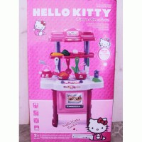 Mainan Anak - Hello Kitty - Kitchen Set Mainan Masak Masakan DISKON