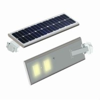 Lampu Jalan Pju Led Solar Surya 20 Watt - All In One