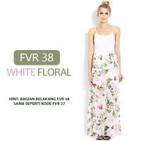 FOREVER 21 FLORAL MAXI DRESS/ pakaian wanita
