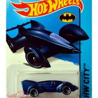 Hot Wheels - Batman Live! Batmobile BIRU / BLUE