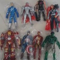 [Figure Marvel DC] Figure Set Super Hero Hulk, Hulk Buster, Iron Man