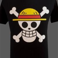T-shirt Kaos Anime One Piece logo