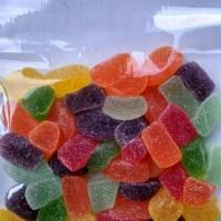 permen jelly rasa buah dari rumput laut