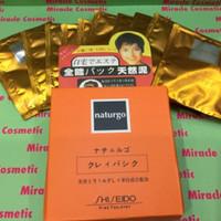 Masker NATURGO SHISEIDO / Masker Lumpur Naturgo 1box=10sachet