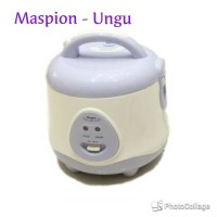 Magic Com 3 In 1 Maspion 0.8 L # EX-0618 (Rice Com / Penanak Nasi)