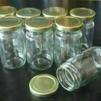 Jual botol/toples jar kaca sambal sambel bumbu selai cake 330mL Murah