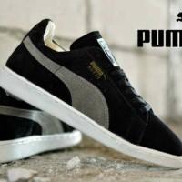 puma suede classic black sneakers skate grosir promo diskon e4c88c6e2e